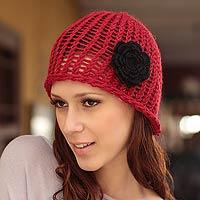 100% alpaca hat,