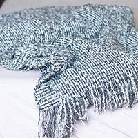 Alpaca throw blanket,