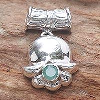 Emerald pendant,