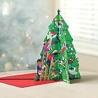 Advent calendar, 'Christmas Tree Excitement' - 3-D Christmas Tree Advent Calendar UNICEF Children