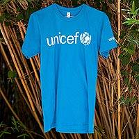 UNICEF Adult T-Shirts (Blue) - Help Spread the UNICEF Message