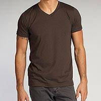 Men's organic cotton t-shirt, 'Perfect Mocha' - Men's 100% Organic Cotton T-shirt Low Impact Brown Dyes