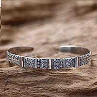 Gold accent cuff bracelet,