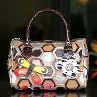 Bowling handbag,