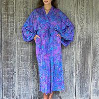 Rayon batik robe