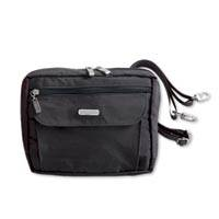 Convertible nylon wallet shoulder bag, 'Wanderlust' - Wanderlust Convertible Nylon Wallet Shoulder Bag