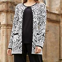 Long cardigan, 'Forbidden City' - Forbidden City Cardigan