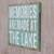 Wood sign, 'Memories are Made at the Lake' - Rustic Wood Lake House Wall Sign in Weathered Turquoise (image 2b) thumbail