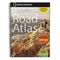 National Geographic road atlas, 'Adventure Edition' - NG Road Atlas