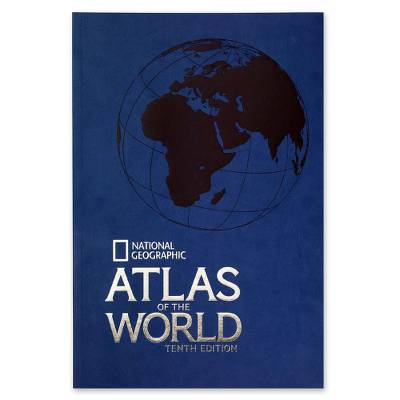 'Atlas of the World -10th Edition' (paperback) - National Geographic Atlas of the World -10th Ed Softcover