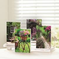 UNICEF everyday cards, 'Garden Path' (set of 12) - Garden Path UNICEF Everyday Cards (set of 12)