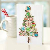 UNICEF holiday cards, 'Eco Tree' (set of 12) - Eco Tree UNICEF Cards (set of 12)