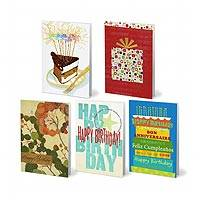 UNICEF Business Collection Birthday Cards (set of 25) - UNICEF Business Collection Boxed Cards