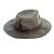 Men's waxed cotton hat, 'Blyde River' - Men's Waxed Cotton Tin Cloth Hat in Olive (image 2c) thumbail
