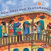 Audio CD, 'New Orleans Playground' - Putumayo Children's Music CD New Orleans Playground