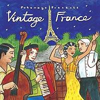 Audio CD, 'Vintage France' - Putumayo Music CD of Vintage France