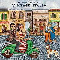 Audio CD, 'Vintage Italia' - Putumayo World Music Vintage Italia CD