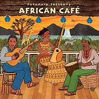 Audio CD, 'African Café' - Putumayo African Café Music CD