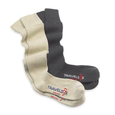 Unisex compression socks, 'Traveler's Friend' - Unisex Compression Socks for Comfortable Travel