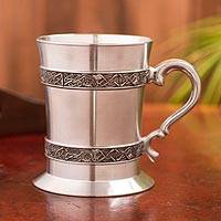 Pewter tankard, 'Book of Kells' - Celtic Knotwork Pewter 18 Ounce Tankard