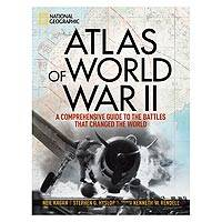 'Atlas of World War ll' - Atlas of World War ll NatGeo Hardcover Book