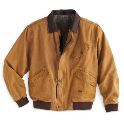 Mens Outback Canvas Jacket