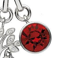 Swarovski crystal pendant - Sterling Silver and Swarovski Crystal Pendant