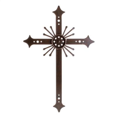 Religious Iron Cross Wall Art
