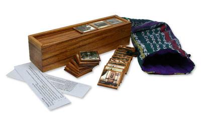Wood memory game