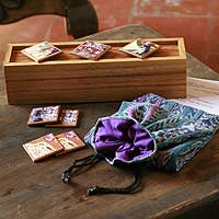 Wood memory game, 'Easter Week' - Unique Photo Wood Memory Game