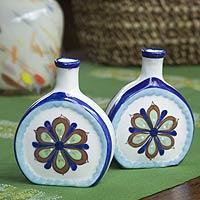 Ceramic vases,