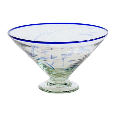Decorative blown glass centerpiece