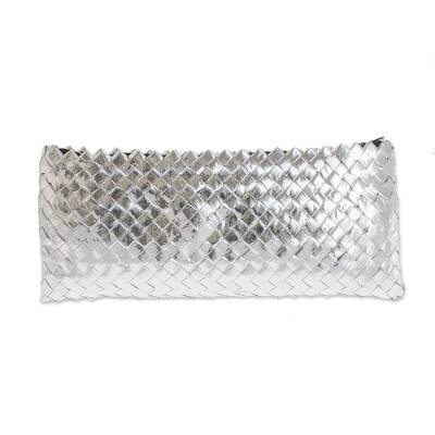 Handmade Recycled Wrapper Clutch Handbag