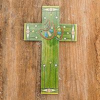 Pinewood cross Peace and Hope El Salvador