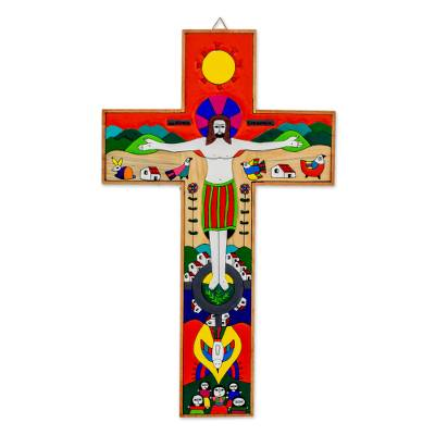 Handcrafted Christianity Wood Cross