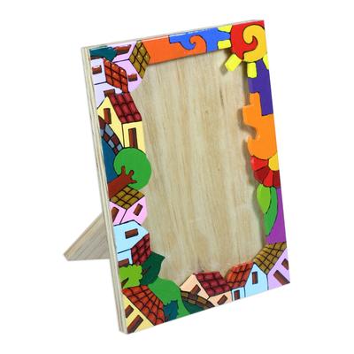 Pinewood photo frame (4x6)