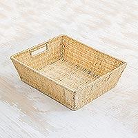Maguey fiber basket,