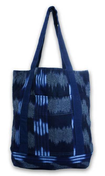 Hand Made Central American Cotton Tote Handbag