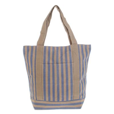 Cotton tote shoulder bag