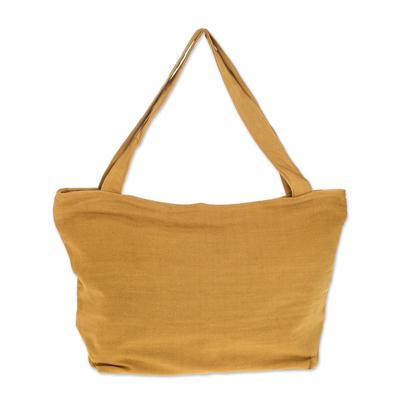 Cotton tote handbag