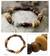Wood and jade stretch bracelet, 'Maya Transformation' - Wood Beaded Jade Stretch Bracelet thumbail