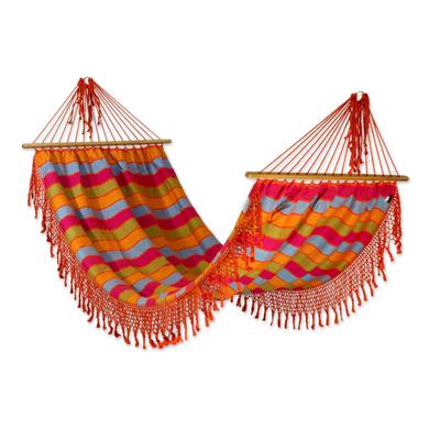 Fair Trade Central American Cotton Hammock (Single)