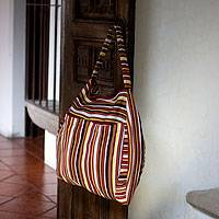Cotton travel bag Colors of My Land Guatemala