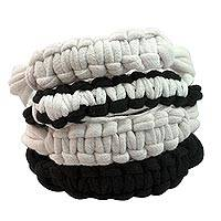 Cotton wristband bracelets,
