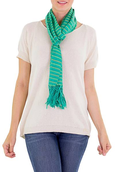 Cotton scarf, Eco Fantasy