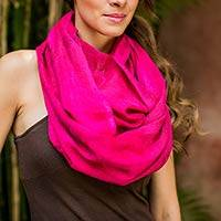 Cotton circular scarf,