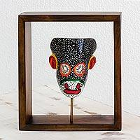 Pinewood mask, 'Spider Monkey' - Pinewood mask
