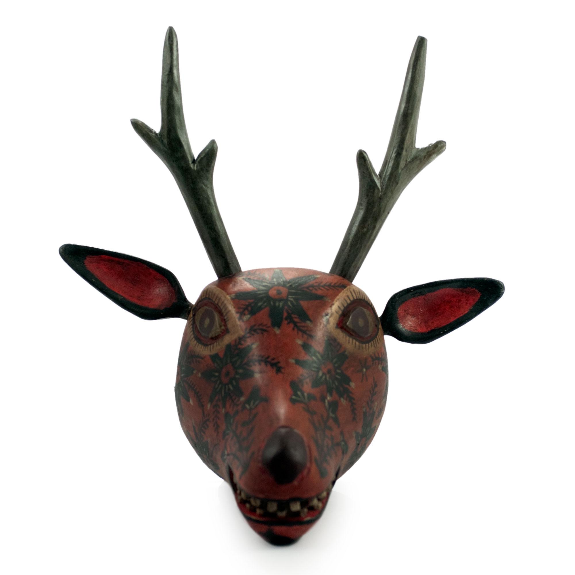 unicef market handcrafted mayan animal mask nobility