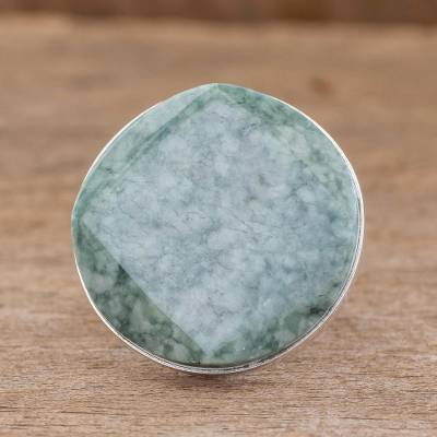 real silver necklace price prediction - Jade cocktail ring