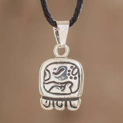 Sterling silver pendant necklace, Destinys Nahual
